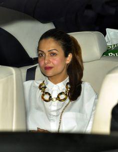 Amrita Arora arriving at Karan Johar's party. #Bollywood #Fashion #Style #Beauty