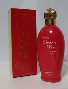 My mom used to wear this.  Occasionally Avon carries this vintage 60s Avon Persian Wood Cologne Mist Perfume w Box.