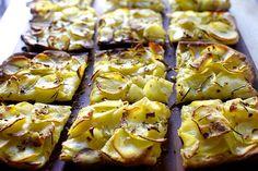 potato pizza (pizza con potate)
