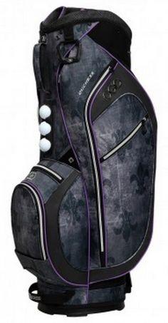 Fleur De Lis-Purple Ogio Women's Duchess Golf Cart Bag! More golf bags at #lorisgolfshoppe