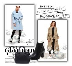 """""""8/18 romwe"""" by fatimka-becirovic ❤ liked on Polyvore featuring Kate Spade"""