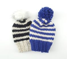 Knit Toque - Striped
