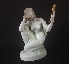 Catawiki online auction house: Szilágyi Nagy István - Herend Hungary - Porcelain Hungary, Garden Sculpture, Auction, Statue, Outdoor Decor, House, Design, Home