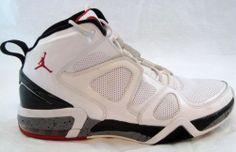 Air Jordan Ol School IV 2010 White Varsity Red Size 10 1/2 RARE #Jordan #BasketballShoes