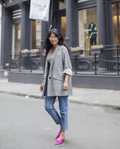 five influencers to follow for street style | @walkinwonderland | on the blog