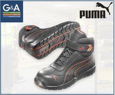ba29f13a7229 Puma Daytona Mid Safety Trainer Boot Safety Footwear