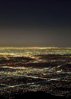 Los Angeles lights.