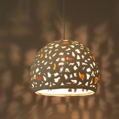 10% off-Chandelier . Ceramic pendant light. Chandelier
