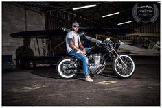 Kustom brothers bikers club - bobber - motorcycles - saint die des Vosges - photographe deod'art Vernier Aurélien - moto Suzuki savage 650 bobber - Cedric Vernier - beard - lifestyle - tattoo style -