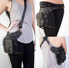 Hey, I found this really awesome Etsy listing at https://www.etsy.com/listing/235987469/vintage-steampunk-gothic-style-leather
