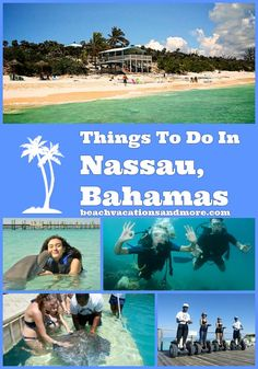 Top fun things to do in Nassau, on vacation – Water sports, Fishing, day trips a… Bahamas Resorts, Bahamas Honeymoon, Bahamas Vacation, Vacation Trips, Day Trips, Vacations, Nature Images, Nature Photos, Nature 3d