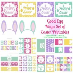75 great Easter ideas . . . decor, crafts, recipes, and more!