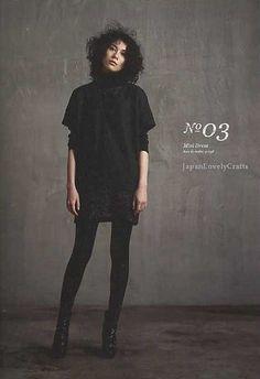 She Has a Mannish Style - Yuko Takada - Japanese Sewing Pattern Book for Women - Stylish & Chic Clothes 3