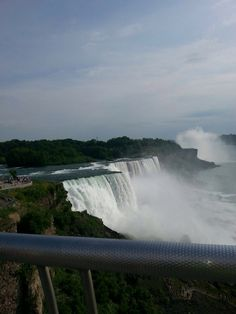 Got this picture taken when I was at Niagara Falls!