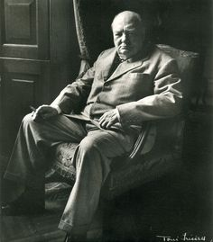 Frissell, Toni:  Sir Winston Churchill at Blennheim, 1951, Printed 1959.