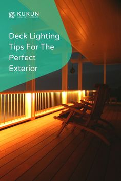 Want to make your home exterior more appealing? Try some of these awesome deck lighting ideas and give your outdoor spaces a magical touch. Backyard Lighting, Deck Lighting, Lighting Ideas, Lighting Design, Solar Deck Lights, Solar Powered Lights, Small Outdoor Patios, Outdoor Spaces, Outdoor Decor