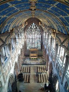 Carlisle Cathedral, Cumbria, England, built in 1133.