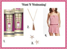 Want It Wednesday! Jergens BB cream, shinymix jewelry, Express romper!