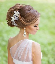 Most Beautiful Updo Wedding Hairstyles 2016