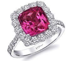 Coast Diamond #pink sapphire and diamond ring @coastdiamond