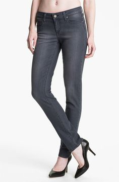 Paige 'Skyline' Skinny Stretch Jeans (Granite) available at #Nordstrom