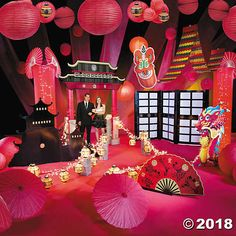 If you're celebrating Chinese New Year in grand fashion or planning a Far East or a Night in the Orient prom theme, this decorating kit will transform .