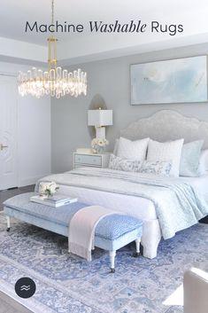 Glam Master Bedroom, Master Bedroom Design, Dream Bedroom, Room Ideas Bedroom, Home Decor Bedroom, Bedroom Inspo, Guest Bedrooms, Girl Bedrooms, Guest Room