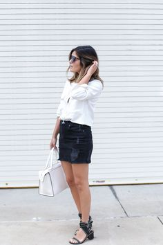 Pin by bailey n. on my style | Pinterest | Denim Skirts, Skirts ...