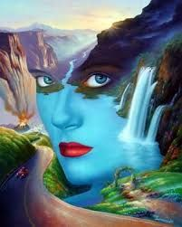 Fantasy and fine artwork. DNA fantasy Images provides a great collection of visual artwork created from some of the worlds finest and talented artists. Whenever possible the original artist is credited with a web link directly from the image. Some images Illusion Paintings, Illusion Art, Beautiful Nature Wallpaper, Beautiful Scenery, Natural Scenery, Beautiful Wall, Beautiful Things, Fine Art, Oil Painting On Canvas