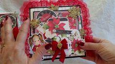 Traditional Christmas Magnolia Tilda Cards for Nit Wit Collections