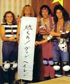 Van Halen in Japan!