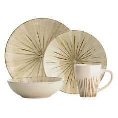Saw this and thy were neat, but they had a weird texture.  Sanctuary Dinnerware