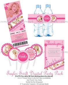 Taylor Swift party printables