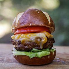 Bourbon burger #recipe from My Catholic Kitchen