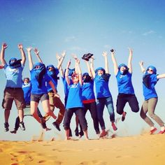 Worcester State students in Morocco. #worcesterstate #studyaway #morocco