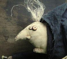 IGOR, A Primitive Folk Art Pattern via Etsy © Raven's Haven, Stacey Mead