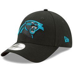 6434ddc6465 Carolina Panthers New Era The League 9FORTY Adjustable Hat - Black