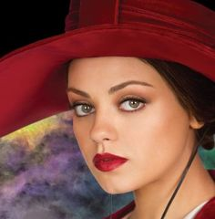 Mila Kunis looking vampy as Theodora, Wicked Witch of the West in Oz: The Great and Powerful
