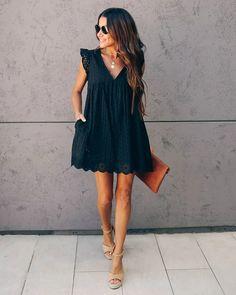 Little black dress casual summer 32 Ideas Cute Dresses, Casual Dresses, Short Dresses, Casual Outfits, Elegant Dresses, Sexy Dresses, Formal Dresses, Wedding Dresses, Mode Outfits
