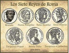Los 7 reyes de Roma