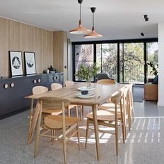 Inbetween Architecture has renovated and extended a dated brown-brick property in Melbourne's Doncaster suburb to improve the quality of its living spaces and capture views of nearby Ruffey Lake