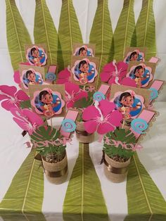 Fun Birthday Party Themes for Kids – Moana – Birthday Ideas – Grandcrafter – DIY Christmas Ideas ♥ Homes Decoration Ideas Moana Birthday Party Theme, Moana Themed Party, Birthday Party Centerpieces, Moana Party, 3rd Birthday Parties, Birthday Fun, Birthday Ideas, Moana Centerpieces, Festa Moana Baby
