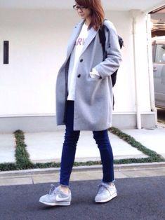 UNIQLOのチェスターコートを使ったLUMIEのコーディネートです。WEARはモデル・俳優・ショップスタッフなどの着こなしをチェックできるファッションコーディネートサイトです。