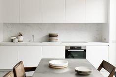 Brussels loft kitchen, NS Architects.    via The Design Edit