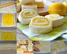 Girelle con crema al limone e cioccolato bianco ricetta veloce