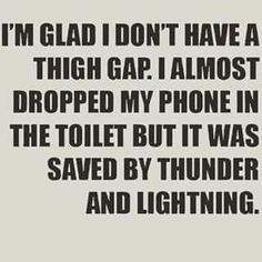 Anti thigh gap