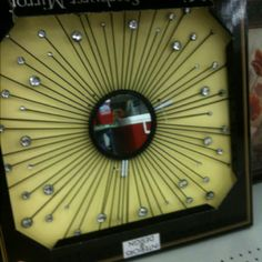 fabulous sunburst mirror from family dollar - only $10!! | on the