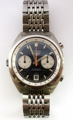 :: Cadence watches :: Vintage Heuer Carrera 1153 Chronograph :: awesome watches for less money