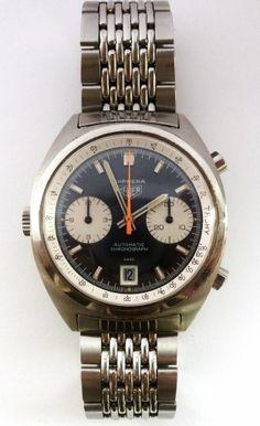 Vintage Heuer Carrera 1153 Chronograph