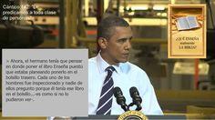 Testigo de Jehová le predica al Presidente Barack Obama